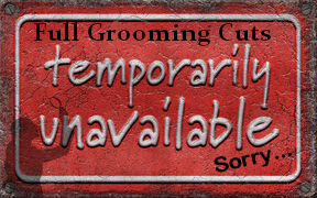 Full Grooms Unavailable